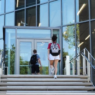 Students returned to in-person classes for the 2021-22 school year.